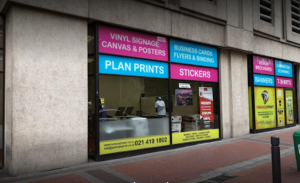 printing shop in cape town cbd