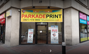 printing shop in cape town